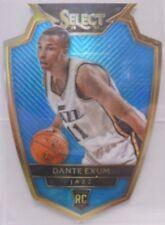2014-15 Panini Select Dante Exum SP Die Cut Light Blue Prizm Ref Rookie #/ 199