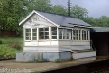NIR Lisburn Signal Box 1982 Northern Ireland Rail Photo
