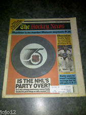 "The Hockey News 1992 ""IS THE NHL'S PARTY OVER?"" Rob Pearson Glenn Anderson"