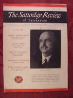 Saturday Review February 1 1936 GEORGE SANTAYANA +++