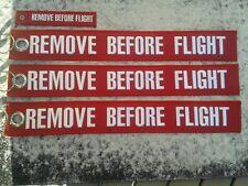 REMOVE BEFORE FLIGHT XXXL Serie 4 SET Avion/Aircraft/YakAir Campo d'aviazione/
