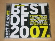 CD PROMO RARE / LES INROCKUPTIBLES / BEST OF 2007 / NEUF SOUS CELLO