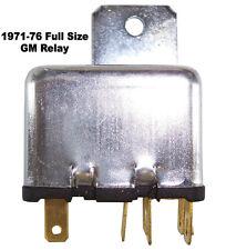 1971-1975 Chevrolet Impala, Caprice convertible top motor control relay switch