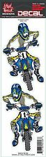 Lethal Threat Sticker Aufkleber Blue Moto Cross KTM Quad Enduro Buell Honda