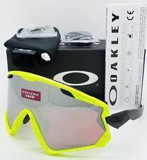 NEW Oakley Wind Jacket 2.0 sunglasses Neon Retina Prizm Snow 9418-0445 9418-04
