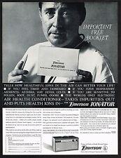 1962 Original Vintage Emerson Ionator Air Purifier Ionizer Doctor Photo Print Ad