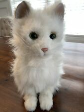 FurReal Friends LuLu My Cuddlin White Cat Realistic Motion & Sounds Interactive