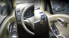 Chrome Interior Molding Kit:8p Made in Korea for Hyundai PorterⅡ/H100 04~ +LHD