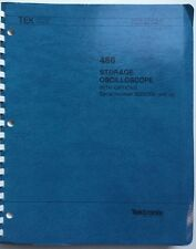 Tektronix 466 Storage Oscilloscope Service Manual w/Schematics  P/N 070-4796-00