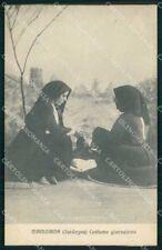 Nuoro Mamoiada Costume Giornaliero cartolina RB9267