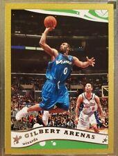 2005-06 Topps Gilbert Arenas Gold Parallel SP #'d /99 #10