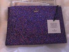 Kate Spade Cameron Street Glitter Multi Color Purple! Amazing Sparkle! SALE!!!!