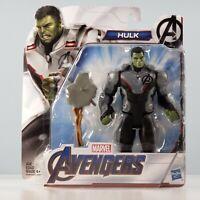 """Hasbro Marvel Avengers Endgame Team Suit - Hulk 6"""" Deluxe Action Figure"""