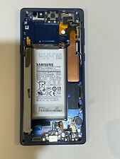 100% OEM Samsung Galaxy Note 9 LCD Touch Screen Assembly Frame Blue Digitizer