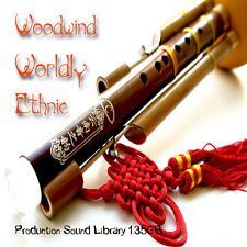WOODWINDS Ethnic WORLDLY - HUGE UNIQUE Samples Production Library over 1.3GB