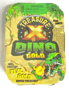 Treasure X Dino Gold-Action Figure-Will You Find real GOLD TREASURE??IN HAND!!
