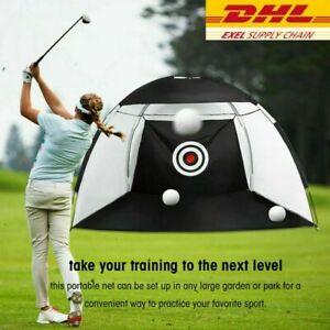 2/3M Golf Praxis Übungsnetz Golfnetz Driving Net für Abschlag Training Target DE