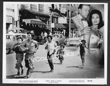 8x10 Photo~ DIME WITH A HALO ~1963 ~Rafael Lopez ~Manuel Padilla Jr~Roger Mobley