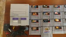 Super Nintendo w/ 24 games