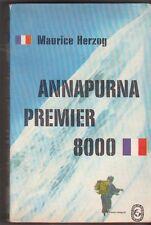Maurice Herzog - Annapurna Premier 8000 - 1965 - poche- état d'usage .Alpinisme