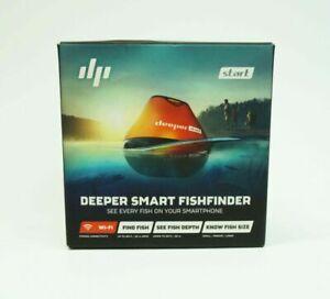 Deeper Start Smart Wi-Fi Fish Finder - Black/Orange (DP2H10S10)