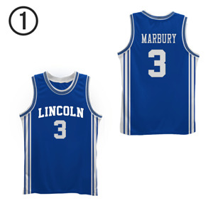 Jesus Shuttlesworth Lincoln High School Basketball Jersey Marbury Step Free Ship