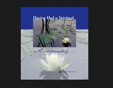 Having Had a Spiritual Awakening Hardcover book al-anon FREE SHIPPING alcoholism