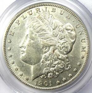 1901-S Morgan Silver Dollar $1 Coin - PCGS XF45 (EF45) - Rare Date - Looks AU