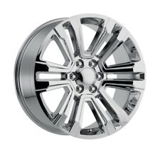 "4) 24"" GMC Denali Style 1500 Sierra Chrome Chevy Silverado Wheels 22 26"