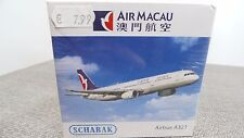 SCHABAK 1:600  Flugzeug 3551488 AIRMACAU Airbus A321  NEU in OVP