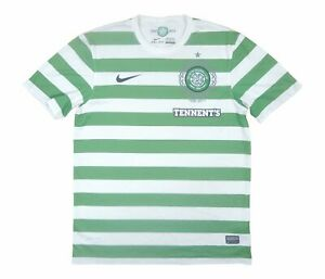 Celtic 2012-13 Original Home Shirt (Very Good) M Soccer Jersey