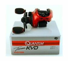 Quantum Team KVD Performance Tuned KVD100S RH Baitcast 6.6:1 Reel NEW IN BOX