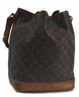 Authentic Louis Vuitton Monogram Noe Shoulder Bag M42224 LV C1652