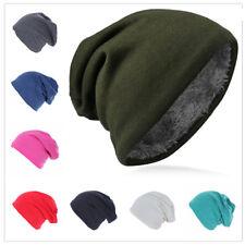 Kinder Jersey Slouch Beanie Mütze doppelseitig warm für Winter Trend GBMU-M
