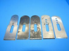 parts lot 5 irons blades cutters for Craftsman block plane Millers Falls Sargent