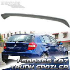 PAINTED BMW 120d 120i 116i 1-SERIES E81 3DR E87 5DR A TYPE TRUNK BOOT SPOILER