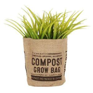 Jute Grow Bag - Windowsill / Patio / Balcony / Yard -  Lined Jute Planter - NEW