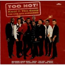 1-CD KOOL AND THE GANG - TOO HOT!: THE LIVE HITS EXPERIENCE (CONDITION: GOOD)
