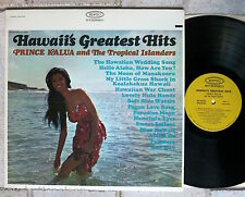 Prince Kalua And The Tropical Islanders ‎– Hawaii's Greatest Hits  LP  EPIC BN