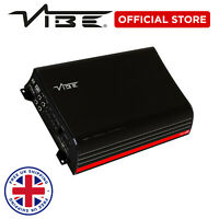 VIBE Powerbox1000.1 Car Audio 2000W Peak Sub Amp 1000W RMS Monoblock Amplifier
