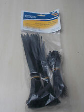 DRAPER 200 PIECE ASSORTED CABLE TIE PACK. (24365) FREE POSTAGE