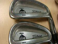 Titleist Dci 962 Irons 5-Pw Dg S300 Stiff Steel Rh