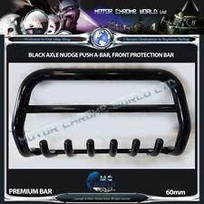 FITS CITROEN BERLINGO BLACK BULL BAR AXLE NUDGE PUSH A-BAR 60mm 1996-2007 OFFER