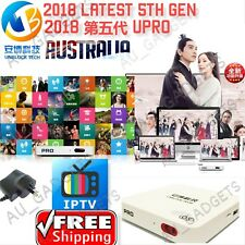2018 Unblock 安博5代Tech Gen5 I900 UPRO OS GLOBAL UBOX5 LIVE Media IPTV TV Box Asia
