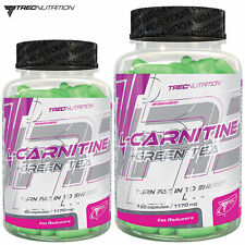 L-CARNITINE & GREEN TEA 90/180 Fat Burner Weight Loss Energy Slimming Reduction