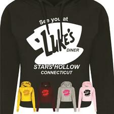 Luke's Diner GILMORE Girls Top Hoodie Funny Standard Connecticut Need Hollow
