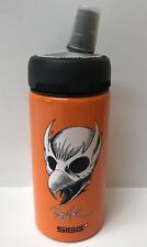 SIGG TONY HAWK LI'L SKATER Water Bottle .4 liter (13.5 oz) BRIGHT ORANGE NEW