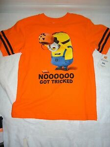 Boys Despicable Me Minions Casual Short Sleeves Cotton T Shirt Top Shorts 2-6 yr