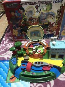 Tomy Pokemon Chibi Poke House DX Deluxe Type Figure Playset Compact World Toy