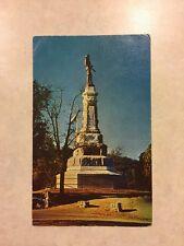 Marshall Monument, Coloma, California Postcard